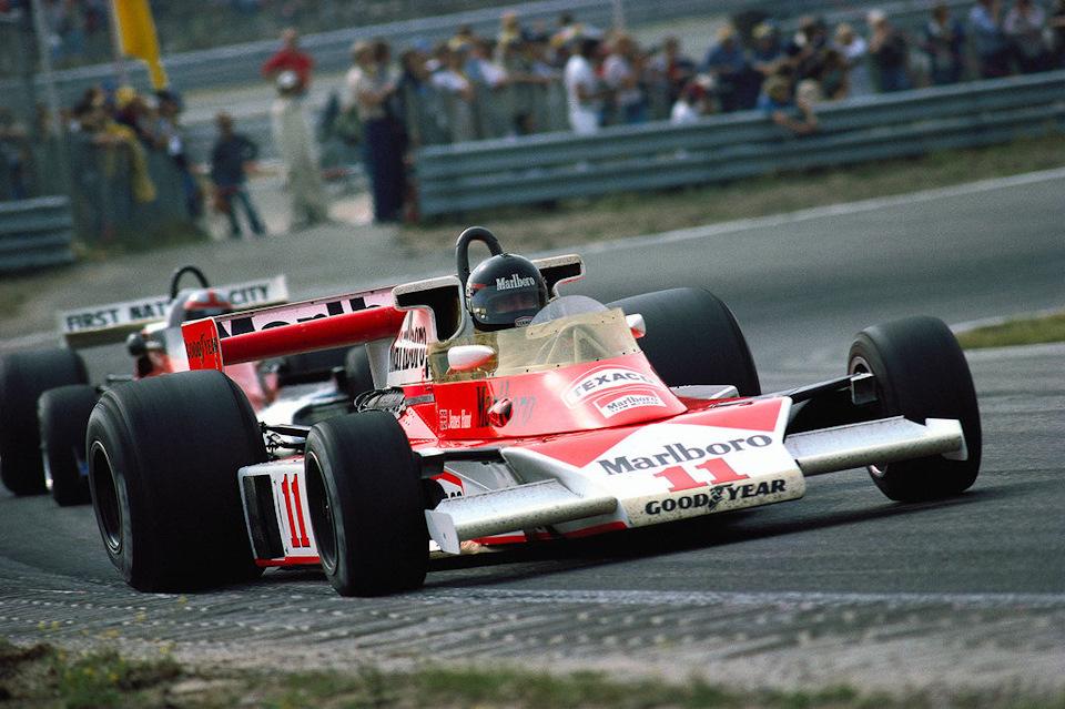 Джеймс Хант на McLaren M23