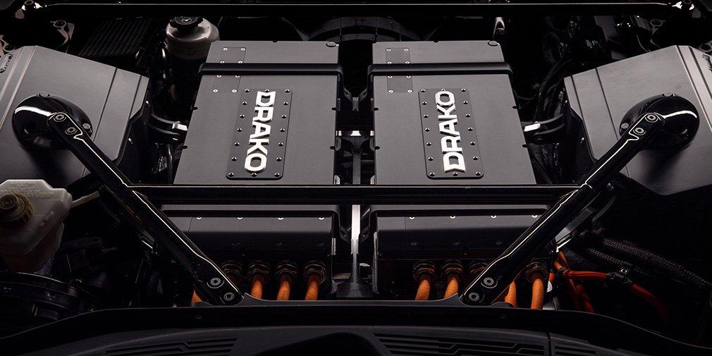 Электрокар Drako Motors GTE мощность