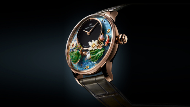 Jaquet Droz Magic Lotus Automatiom