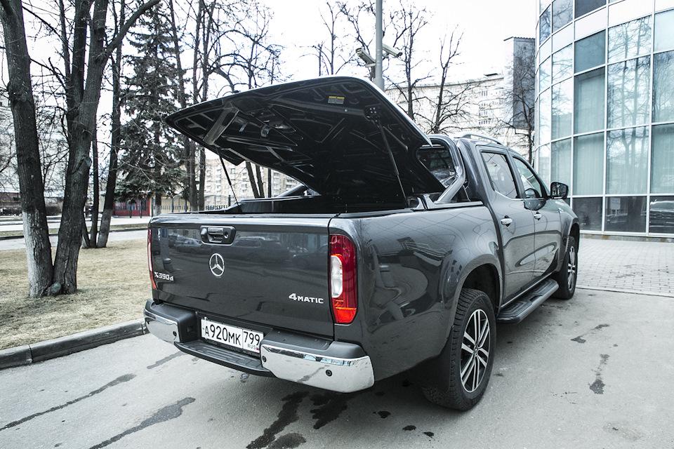 багажник Mercedes