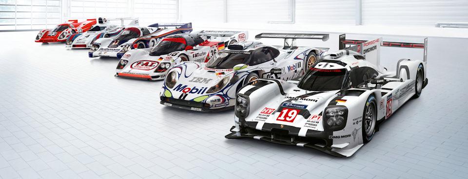Porsche-триумфаторы Ле-Мана