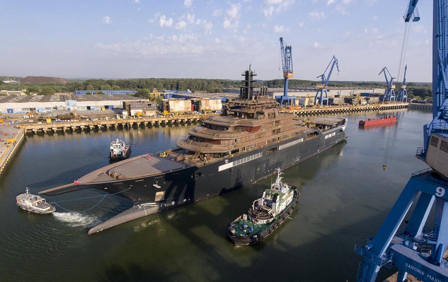 самая большая в мире яхта REV Ocean