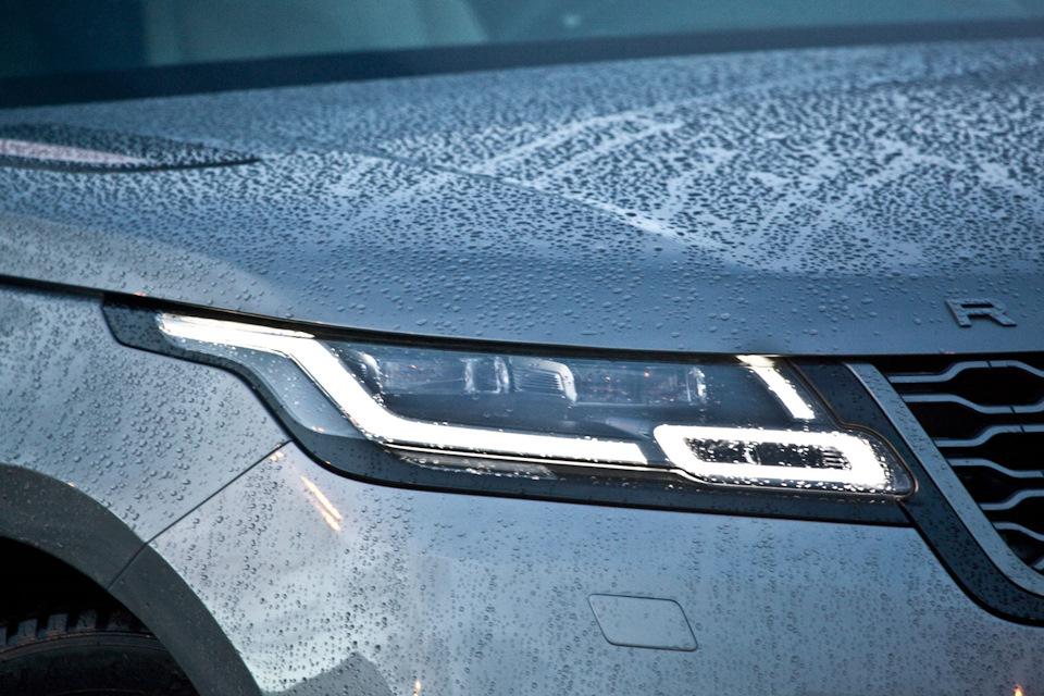 Range Rover Velar фары