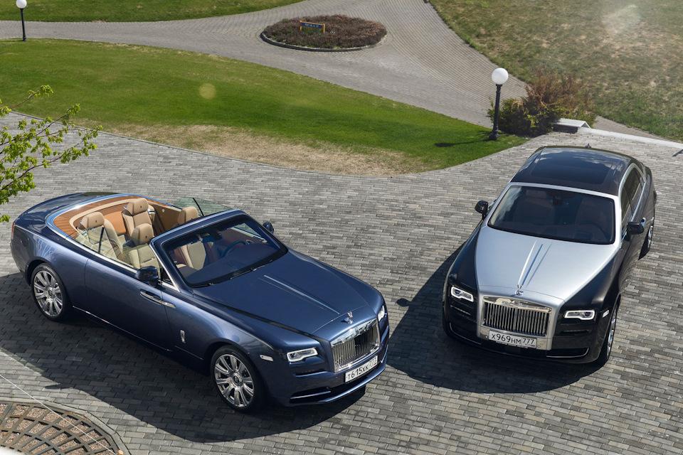 Rolls-Royce Ghost II и Dawn