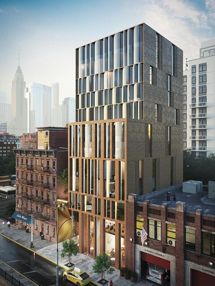 The Snail Apartments нью-йорк