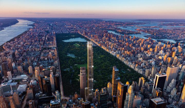 Башня Центрального парка - самое высокое здание