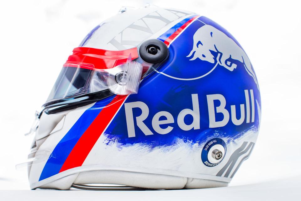 Шлем Квята, который не разрешили использовать