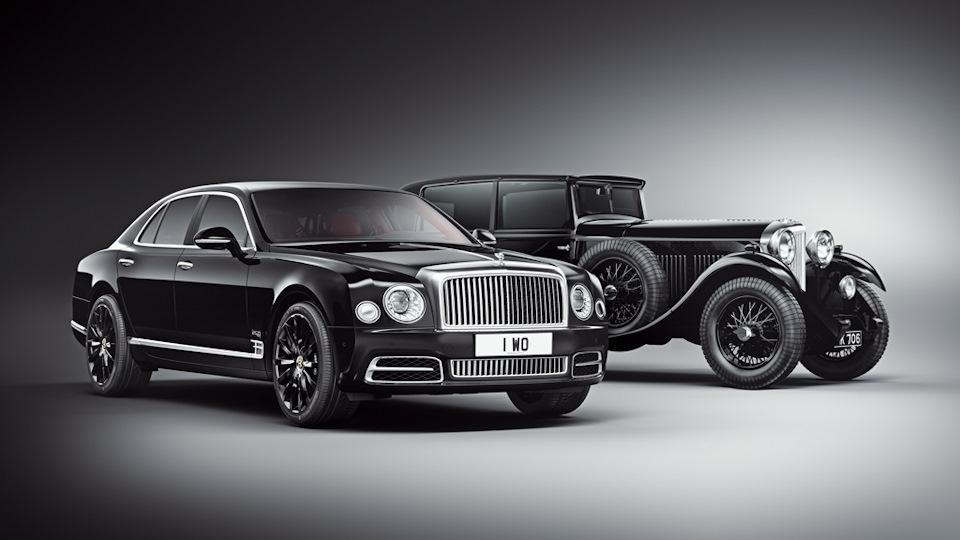 Как Bentley празднует свой юбилей