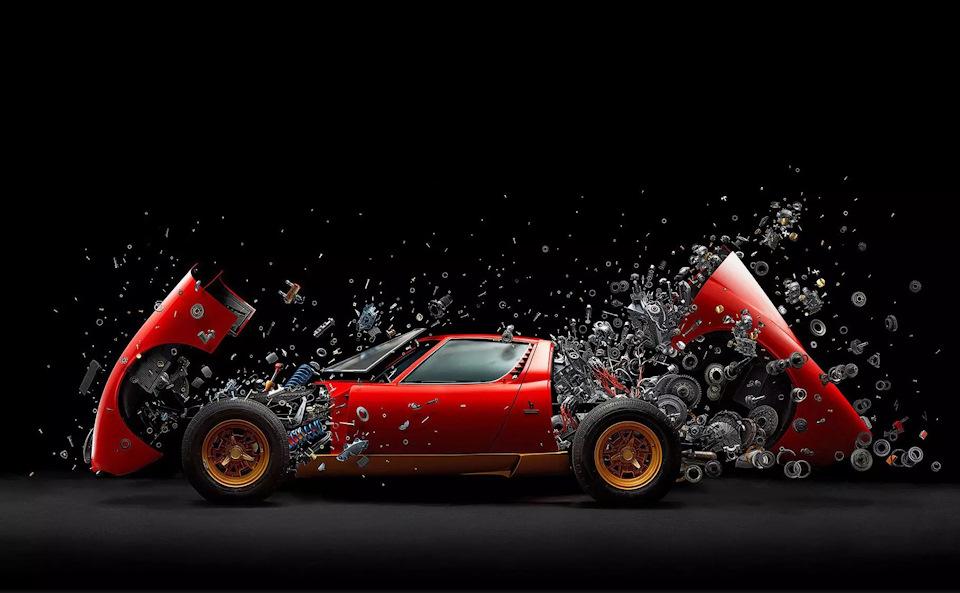 культовая Lamborghini Miura