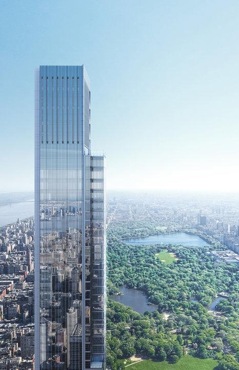 самое высокое жилое здание в мире высотой 472 метра