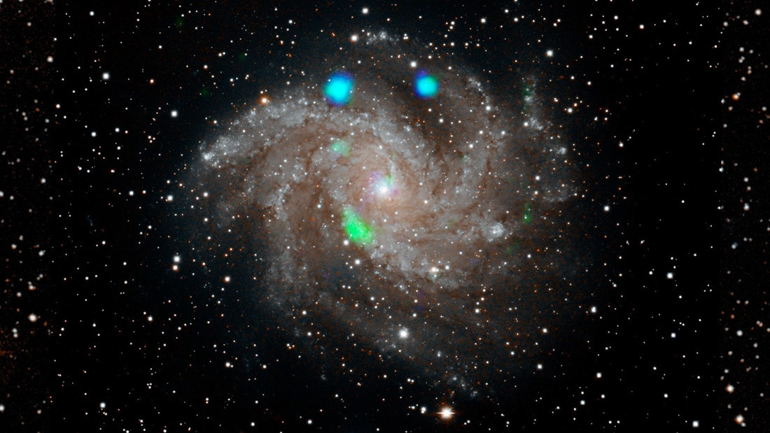 "галактике NGC 6946 ""Фейерверк"""