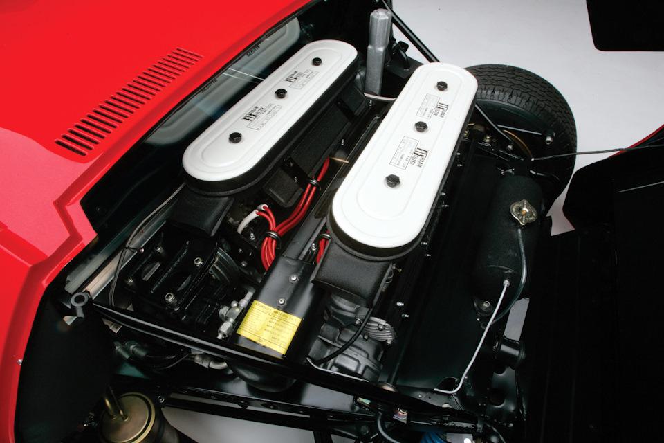 Lamborghini Miura SV 1972 года
