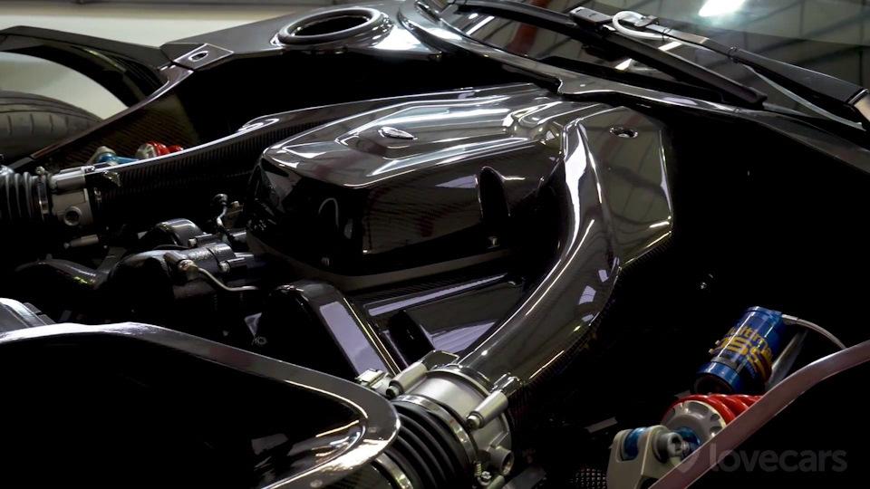 двигатель Aston Martin Vulcan