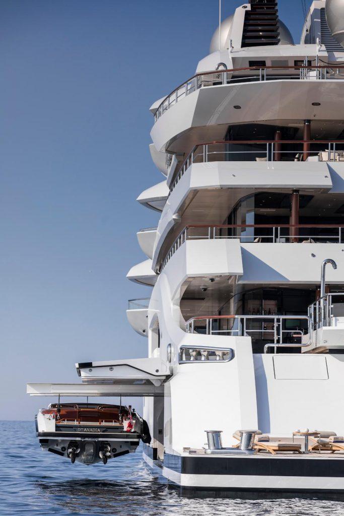 прогулочный катер для яхты Amaeda