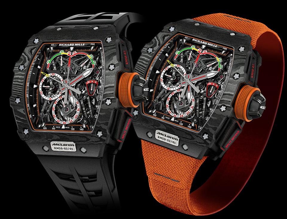 McLaren получили часы от Richard Mille