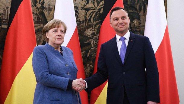 лидеры польши и германии