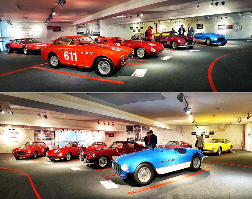 Ferrari 500 Superfast, 166 MM, 340 MM, 290 MM, прекраснейшая 750 Monza, 250 GT Berlinetta TdF