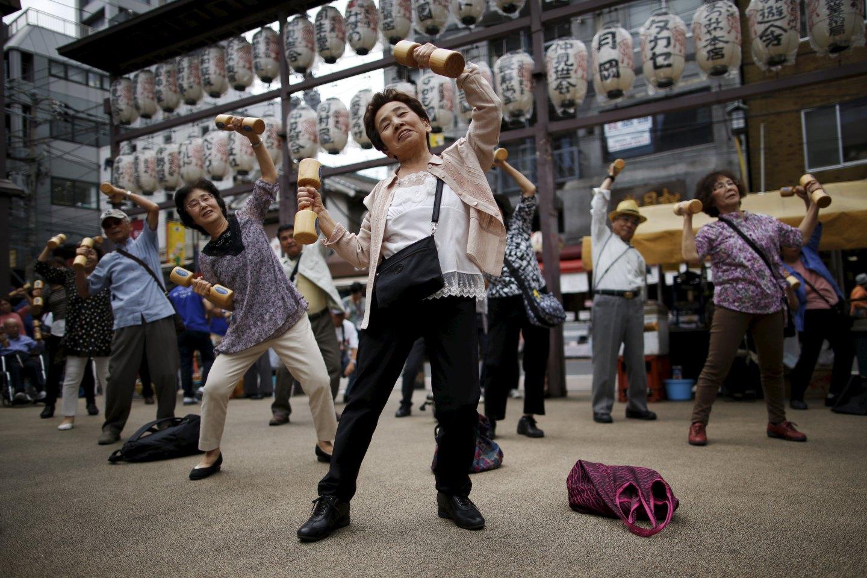 долголетие в японии