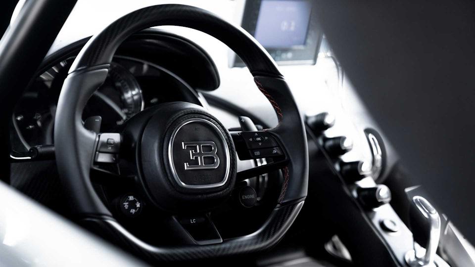 Bugatti Chiron Super Sport 300+ салон