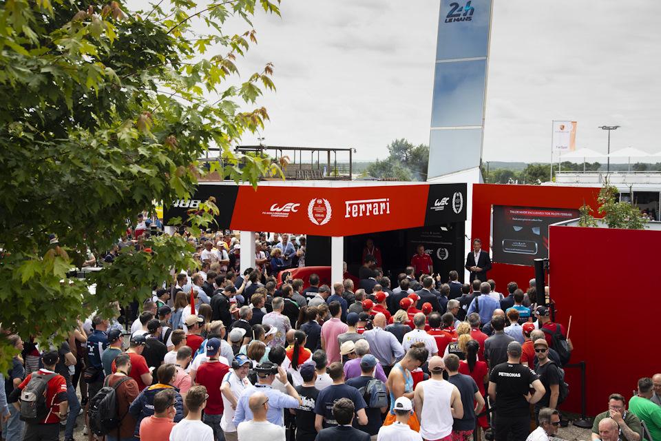 презентация Ferrari 488 Pista