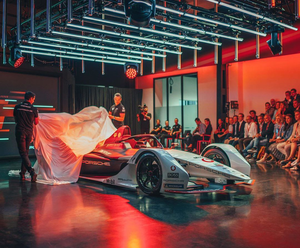Tag Heuer Porsche FE Team