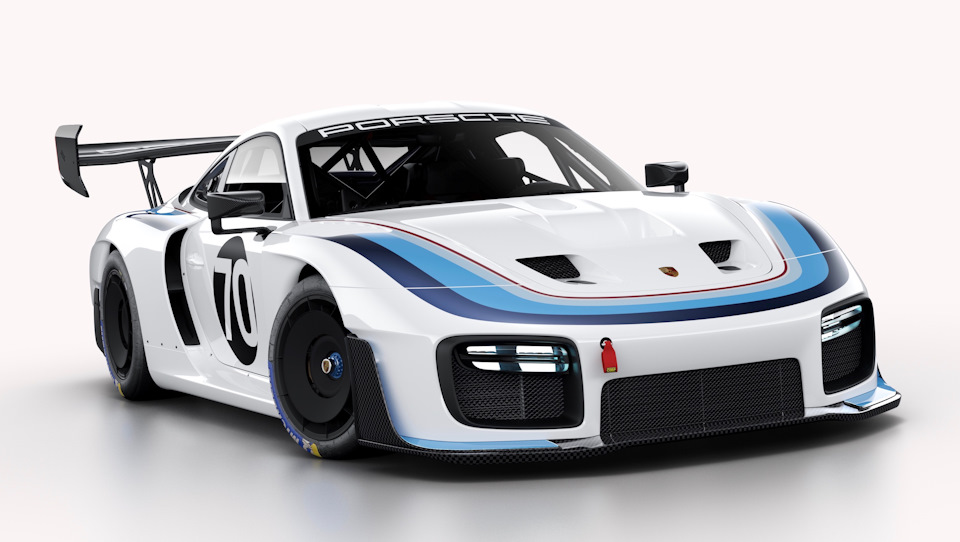 Porsche 935 в фирменных цветах компании Sachs