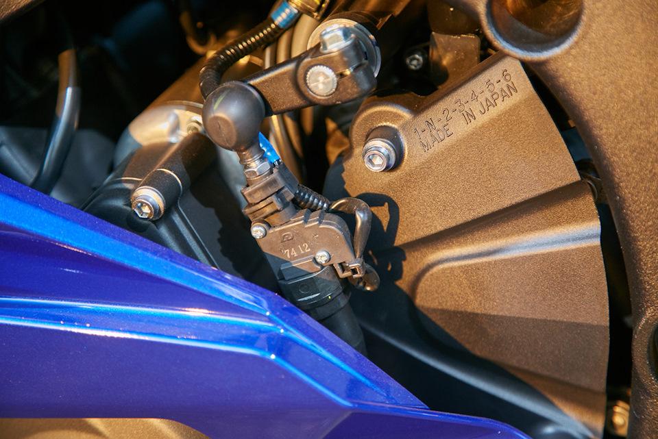 квикшифтер Yamaha YZF-R6