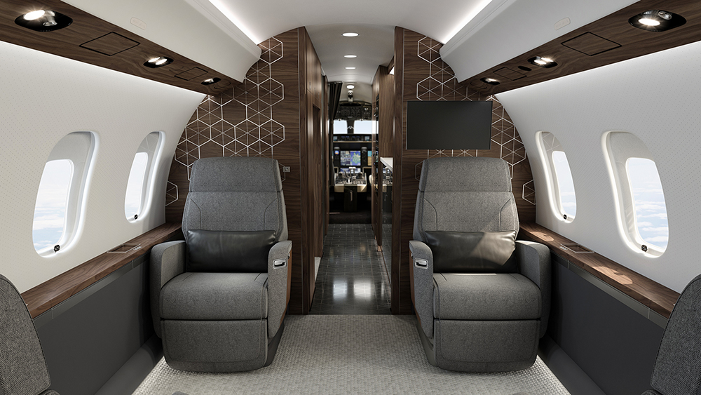Bombardier Global 6500 комфорт