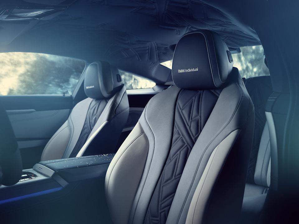 BMW 8 Series сидушки