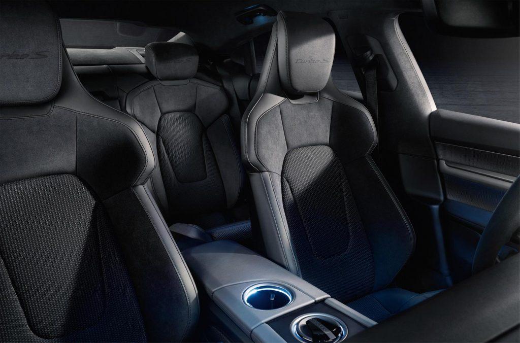 Porsche Taycan и его сидения