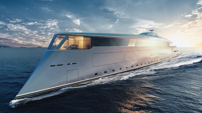 водородная Яхта Aqua