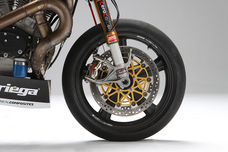 Вилка Öhlins от Ducati 1199 Panigale S