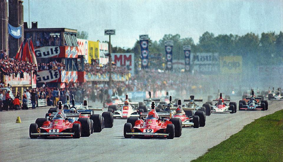 Старт Гран При Италии '75