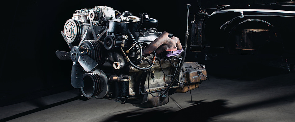 ретро двигатель