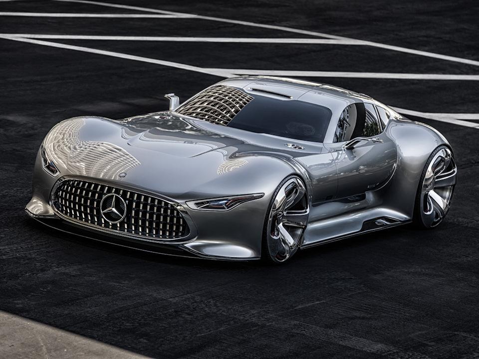 невероятные колёсные арки Mercedes-Benz AMG Vision