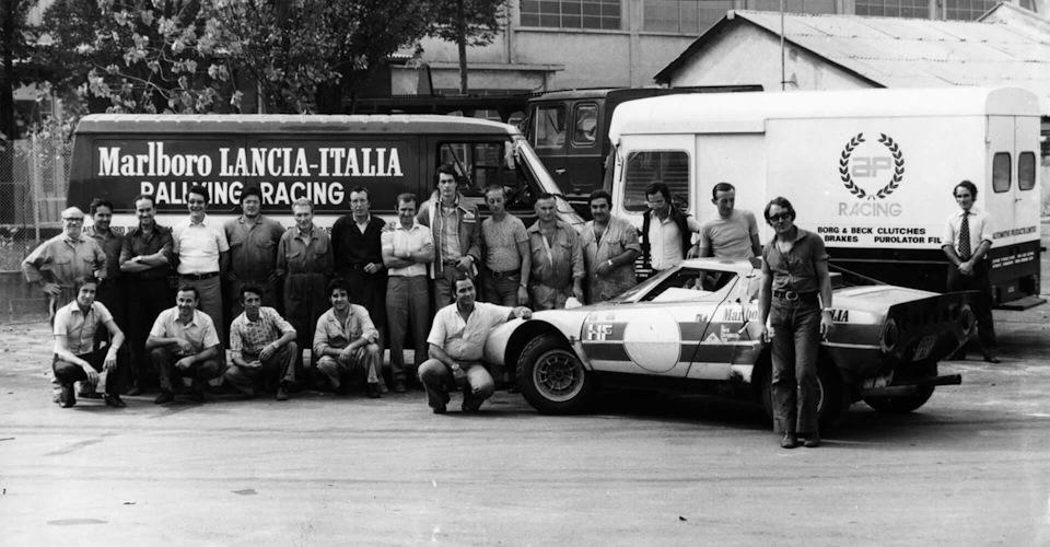 Заводская команда Lancia, 1973 г.