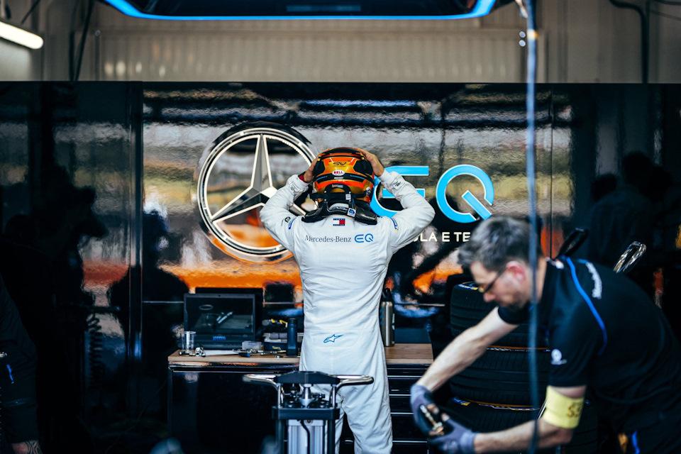Mercedes-Benz в Формуле E в этом сезоне