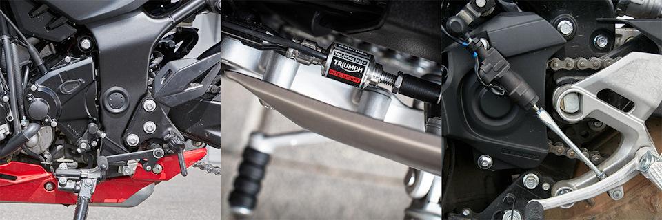 И Triumph, и Yamaha уже «в базе» оснащены квикшифтерами.