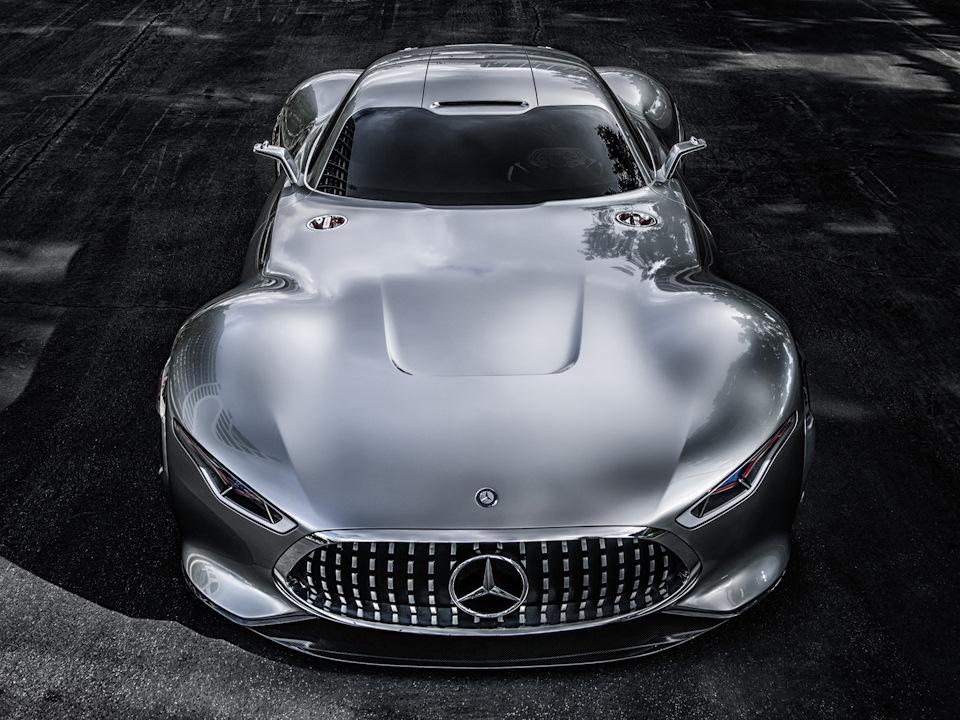 передняя часть Mercedes-Benz AMG Vision
