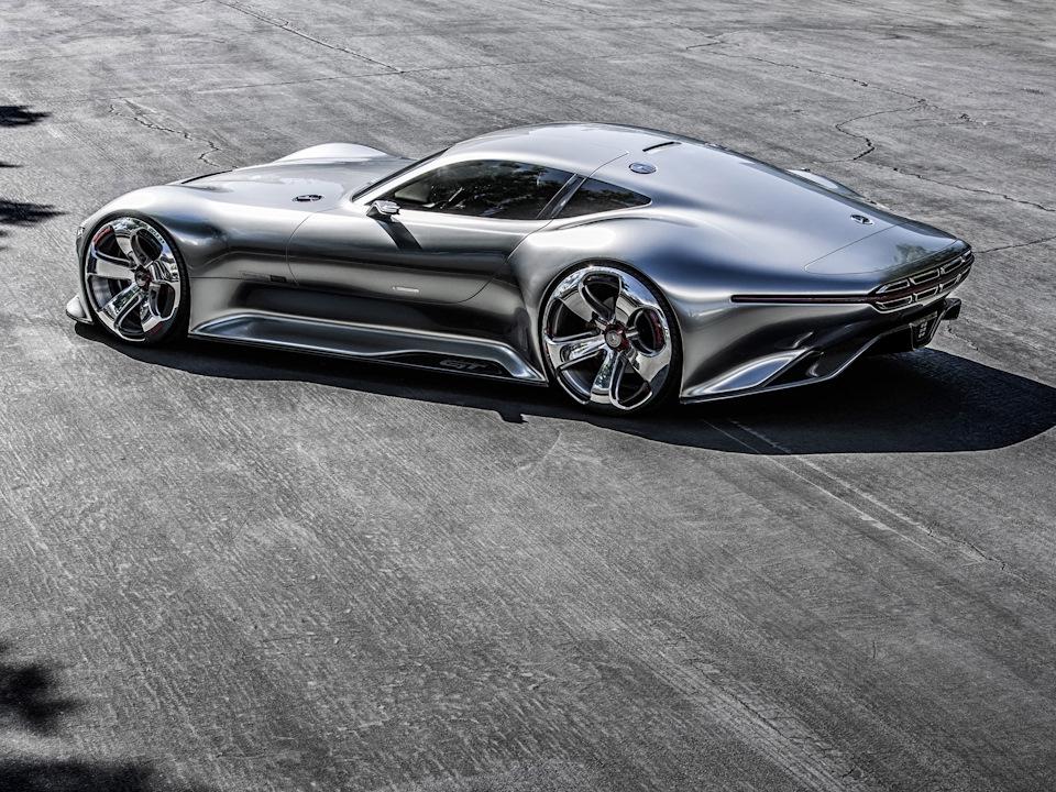 игра поверхностей Mercedes-Benz AMG Vision