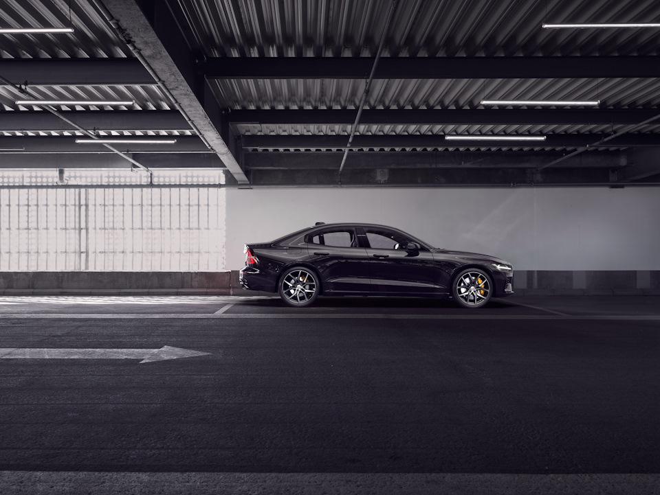 Volvo в профиль