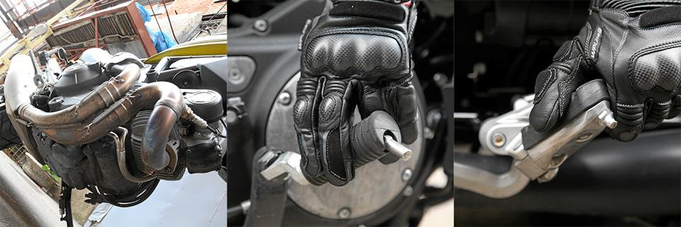 Углы наклона на Harley и Moto Guzzi