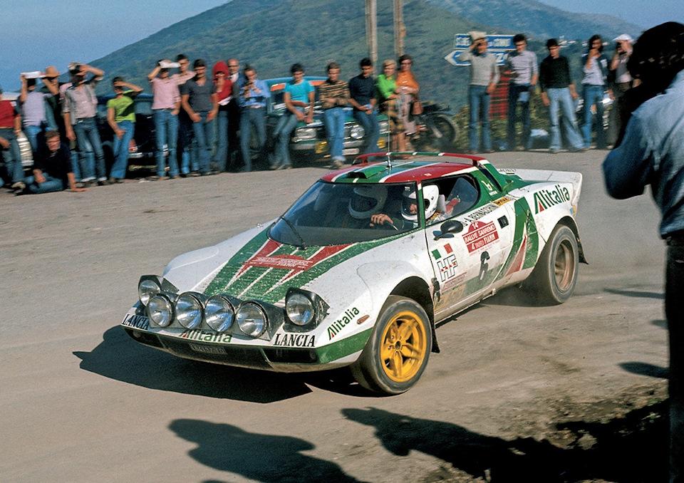 завоевавшие третье место на «Ралли Сан-Ремо» '76