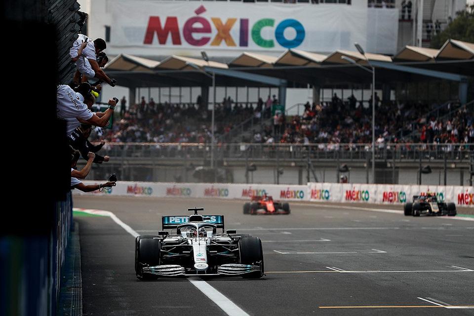 финиш гран при мексики 2019
