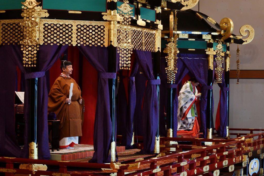 Церемония восхождения на трон