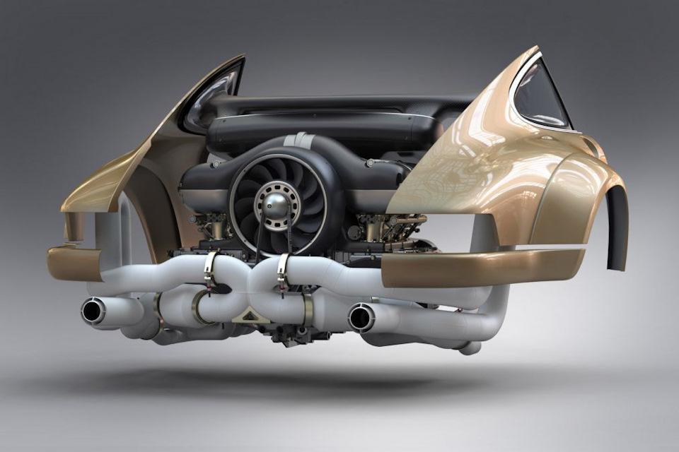 ретро-Porsche