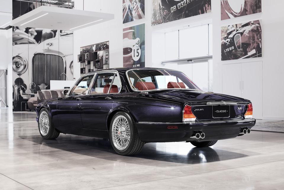 Jaguar XJ6 Greatest Hits cзади