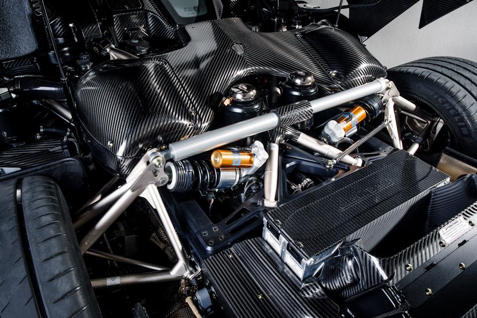 Koenigsegg Regera техника