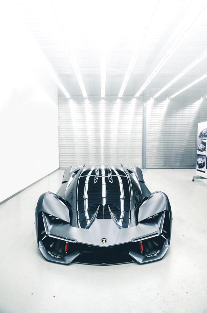 красота Lamborghini Terzo Millennio