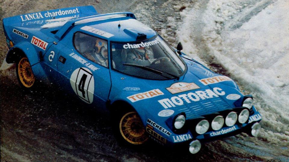 Бернар Дарниш и Алан Маэ на «Ралли Монте-Карло» '79 доказывают, что Lancia Stratos рано сбрасывать со счетов.